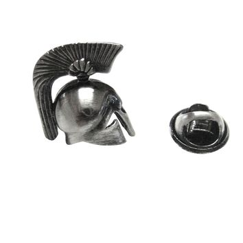 Greek War Helmet Lapel Pin
