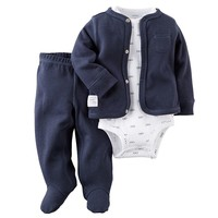 Carter's Glasses Cardigan Set - Baby Boy, Size: