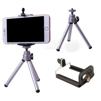 Tripod + Clip Stand Bracket Holder Mount Adapter For Gopro