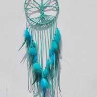 Tree of Life Dreamcatcher Feather Pendant Fashion Simple Car Pendant Dream Catcher Home Decor