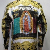 Mexico Flag Our Lady of Guadalupe Shirt