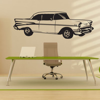 Vinyl Wall Decal Sticker Classic Buick Car #1335
