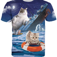 Titanic Cat T-Shirt