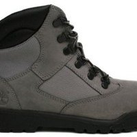 Timberland Big Kids 6 inch Leather and Fabric Field Boot
