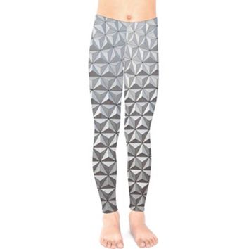 Baby / Kid's Spaceship Earth Epcot Inspired Leggings