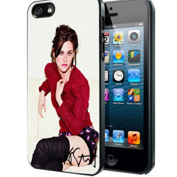 Kristen Stewart Sexy and Cool Samsung Galaxy S3 S4 S5 S6 S6 Edge (Mini) Note 2 4 , LG G2 G3, HTC One X S M7 M8 M9 ,Sony Experia Z1 Z2 Case