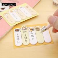 Kawaii Gudetama Post it Planner Stickers Scrapbooking Sticky Notes Memo Pad Notepad For Office Cute Stationery Papeleria
