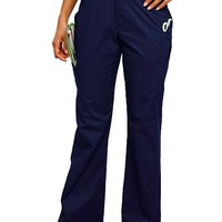 Buy Urbane Sport Womens Four Pocket Tailored Cargo Medical Scrub Pants for $17.95