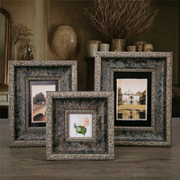 3/6/7 Inch Creative handcraft exquisite frame  solid wood Photo Craft gifts  Frame Home Decor Wooden Desktop Wall Picture Frame