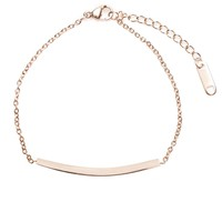 Joy Bracelet Rose Gold - Happiness Boutique