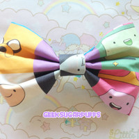 Kawaii Bow Adventure Time by GeekSugarPuffs on Etsy