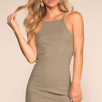 Two Please Bodycon Dress - Sage
