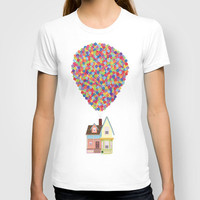Up T-shirt by lovemi | Society6