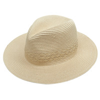 Straw Wide Brim Hat | Wet Seal