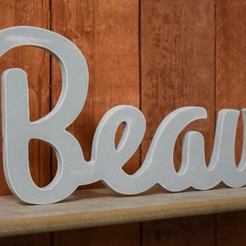 Custom Wooden Name Sign - Nursery - Baby Name - Wedding - Shower Gift - Baby Name Sign, Kid's room decor, Nursery Nesting, Shabby Chic