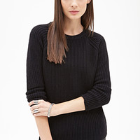FOREVER 21 Classic Raglan Pullover Sweater