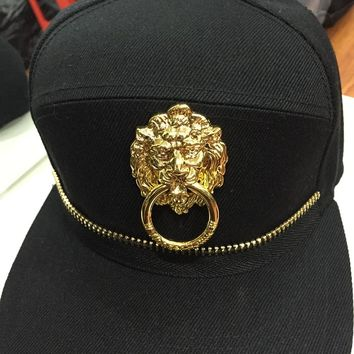 Boys & Men Fashion Hip Hop Lion Baseball Cap