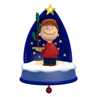 The PEANUTS® Gang A Sign of the Season Ornament With Light, Sound and Motion