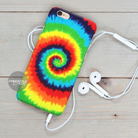 Tye Dye Circle iPhone Case Cover Series