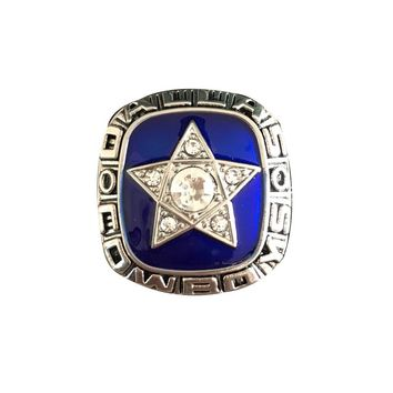 Drop shipping  Sport Jewelry 1970 Dallas Cowboys Championship Ring Custom football ring Size 11