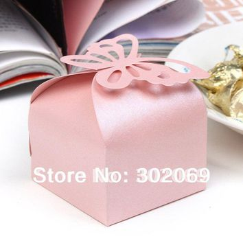 Butterfly  Candy  Folding  Party  Wedding  Decoration