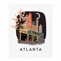 Atlanta Art Print by RIFLE PAPER Co. | Made in USA