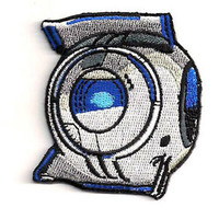 PORTAL - Wheatley Space Sphere - Iron on Patch