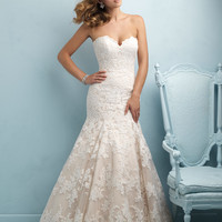 Allure Bridals 9215 Lace Mermaid Wedding Dress