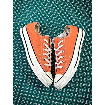 Converse 1970s 155746c Orange Canvas Shoes