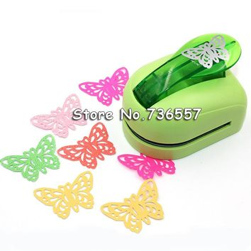 Free shipping Jef Large Size Shaper Punch Craft Scrapbooking butterfly Paper Puncher DIY tools 1pc