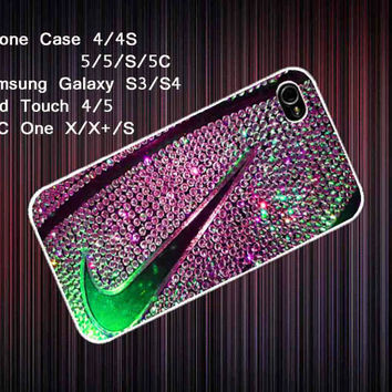 nike basketball just do it glitter Cover Case for Iphone 4/4S/55S/5C, Samsung Galaxy S3/S4, iPod Touch 4/5