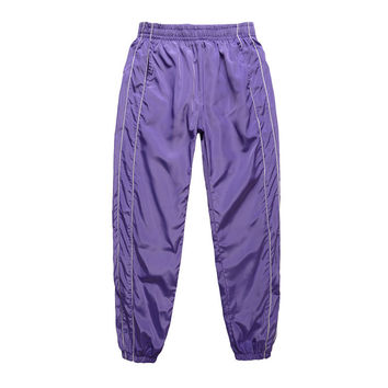 Candy Color Track Pants | Purple