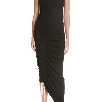 Cinq à Sept Cora Asymmetrical Ruched Dress | Nordstrom