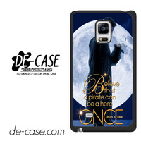 Once Upon A Time Captain Jack For Samsung Galaxy Note Edge Case Phone Case Gift Present