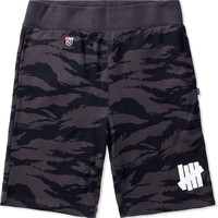Black Combat Sweatshort