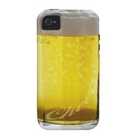 Beer Glass Iphone 4 Case-mate Cases from Zazzle.com