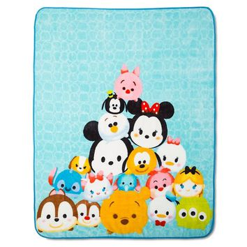 Tsum Tsum Throw Blanket - Multicolor