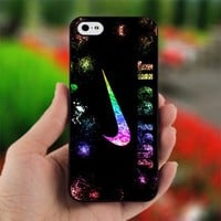 Nike Just Do it With Sparkle - Photo on Hard Cover For iPhone 5