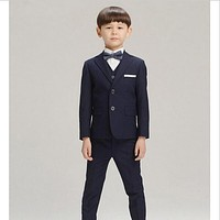 High Quality Boys Suits for Weddings Kids Prom Suits Wedding Suits Kids Tuexdo Children Clothing Set Boy Formal Classic Costume