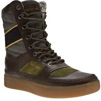 Puma Black Label By Alexander Mcqueen Leather Boot