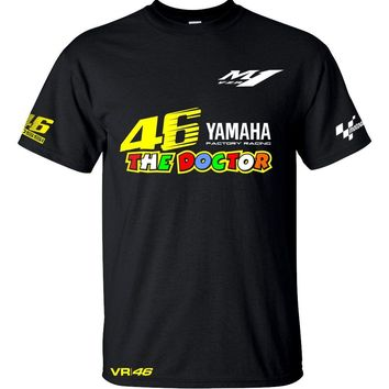 New Arrival Motogp Quick Dry T Shirt Motorcycle Moto GP Sports motocross men's motorbike For YAMAHA M1 T-Shirt