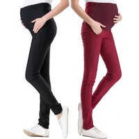 15 Color Casual Maternity Pants for Summer 2017