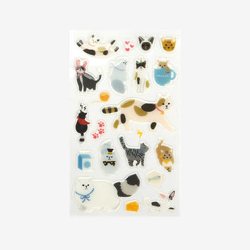 Decorate your item epoxy adhesive sticker - Cat