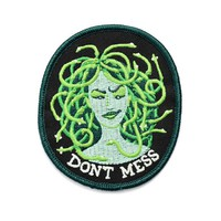 Don't Mess With Medusa Patch (Glow-in-the-Dark)