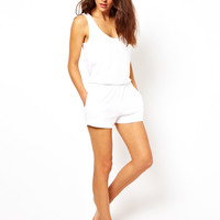 ASOS Towelling Beach Playsuit.