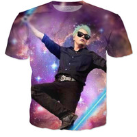 Mcr Gerard Way Galaxy Shirt