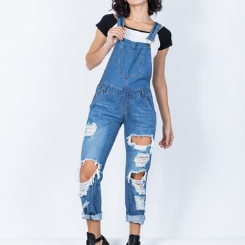 Playin' it Cool Overalls
