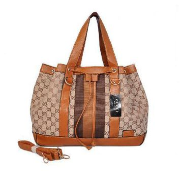 GUCCI Women Leather Fashion Shoulder Bag Tote Handbag Crossbody
