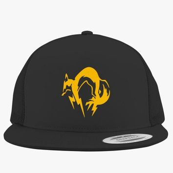 Metal Gear Solid Fox Embroidered Trucker Hat