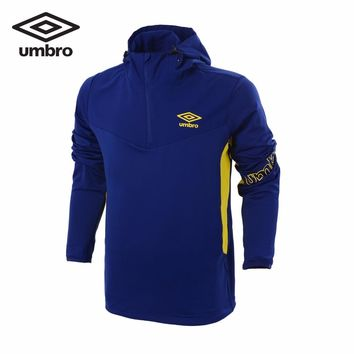 Umbro Men Outdoor Windbreaker Regular Fit 100% Polyester AT PROOF SMART Waterproof Coat Sports Jackets UZC63903